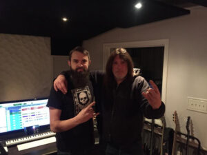 Aaron Smith and Frank Hetzel at Envisage Audio